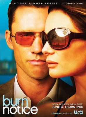 Burn+Notice+Season+3+Television+Poster Assistir Burn Notice Online (Legendado)